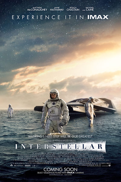 interstellar poster space